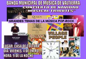 Concierto Banda Municipal de Música de Valtierra