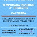 CURSOS DEPORTIVOSTAMPORADA OTOÑO-INVIERNO
