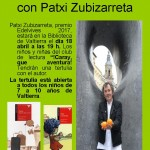 Tertulia literaria infantil con Patxi Zubizarreta