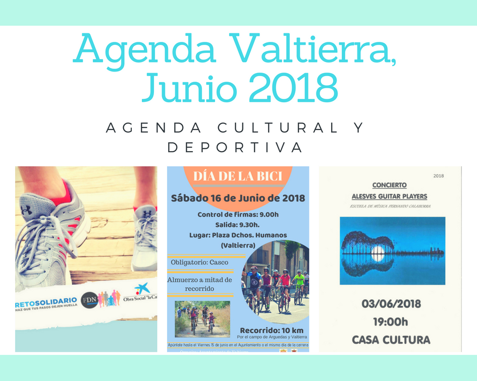 Agenda Junio, 2018 – Valtierra –