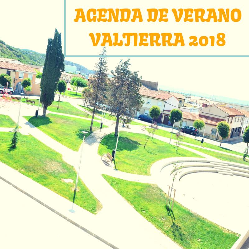 Agenda Verano en Valtierra 2018