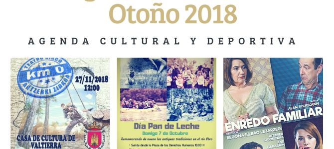 AGENDA OTOÑO 2018 VALTIERRA