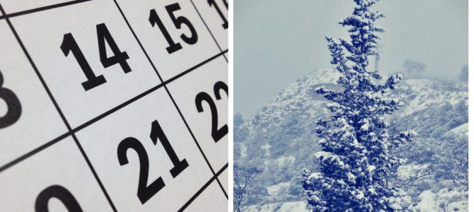 Agenda de Invierno