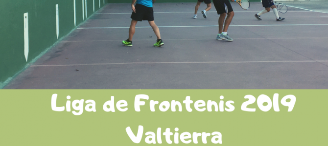 LIGA LOCAL FRONTENIS 2019 – VALTIERRA –
