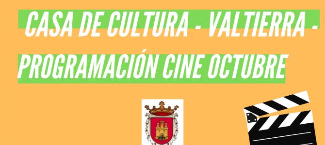 PROGRAMACIÓN CINE – OCTUBRE 2019 –