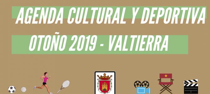 AGENDA CULTURAL Y DEPORTIVA – OTOÑO-INVIERNO 2019 –