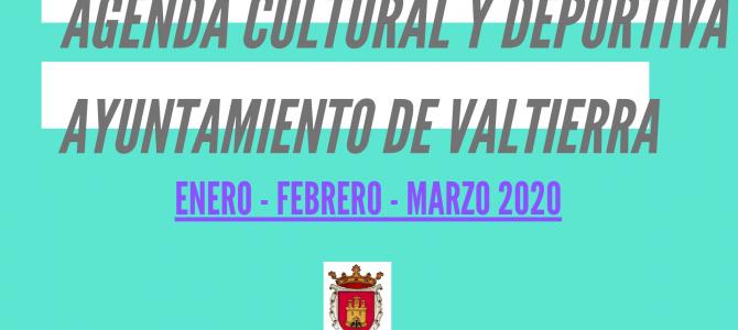 AGENDA DE INVIERNO 2020 – VALTIERRA –